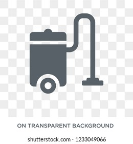 Vacuum cleaner icon. Vacuum cleaner design concept from Electronic devices collection. Simple element vector illustration on transparent background.