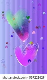 valentine background art