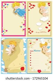 Valentine Card Set