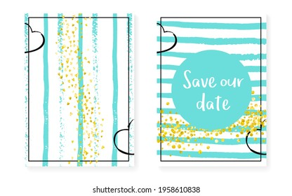 Valentine Confetti. Stripe Rain Art. December Particle Set. White Concept. Golden Splatter Spray. Pink Mothers Painting. Mint Nursery Stardust. Turquoise Valentine Confetti