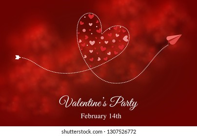 valentine day, february 14th, love fly high