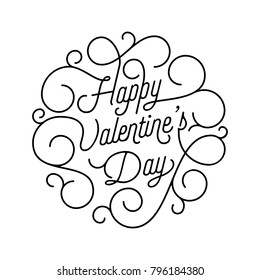 happy valentines day typography vector text stock vector royalty 15th Birthday valentine day greeting card swash calligraphy text for greeting card design template vector happy valentines