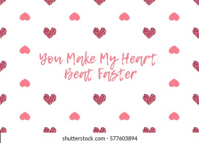 how to make a heart in text