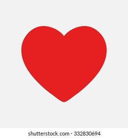 Valentine heart simbol.