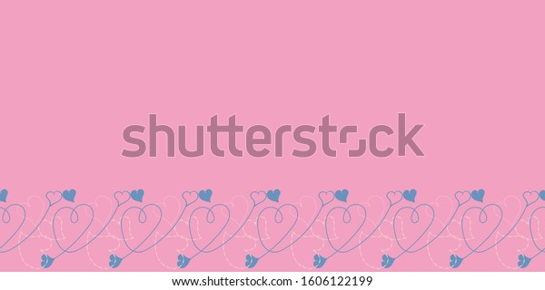 Valentine Hearts Seamless Patterns Collection