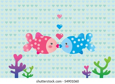 Valentine Love Fish