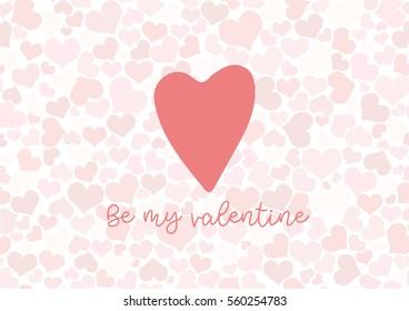 Valentine texting background