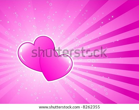 Valentines Background Stock Vector Royalty Free 8262355 Shutterstock