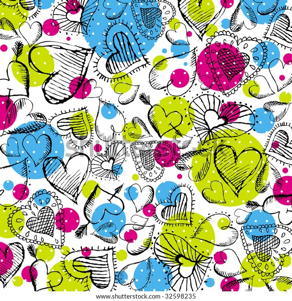 valentines-background-hand-drawn-hearts-