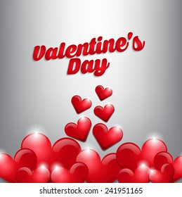 Valentines day background. Can use for greeting card, invitation card, background and banner.