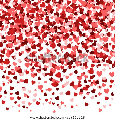Valentines Day Background Romantic Texture Hearts Stock Vector