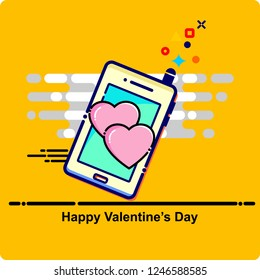 valentines day, card