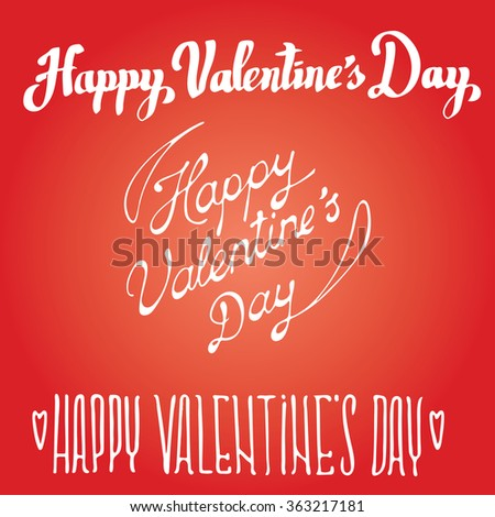 Valentines Day Greeting Card Background Vintage Stock Vector