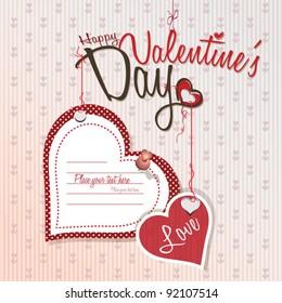 Valentines day - Love card