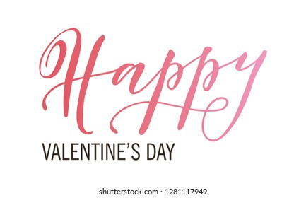 Valentines Day Font Stock Illustrations Images Vectors