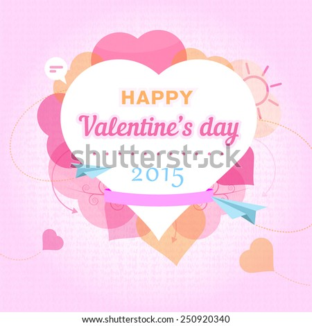 Valentines Day Vector Illustration 14 Fabruary Stock Vector Royalty