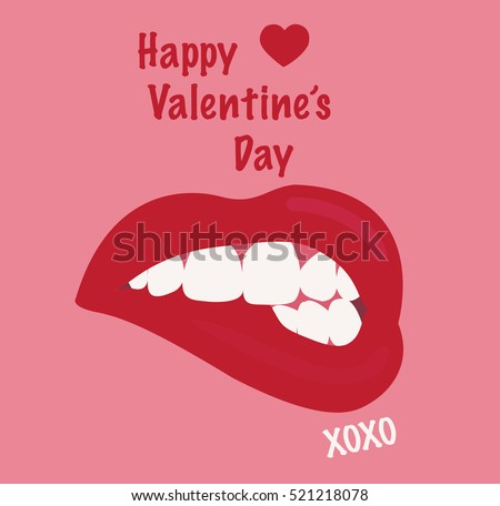 Valentines Day Xoxo Stock Vector Royalty Free 521218078 Shutterstock