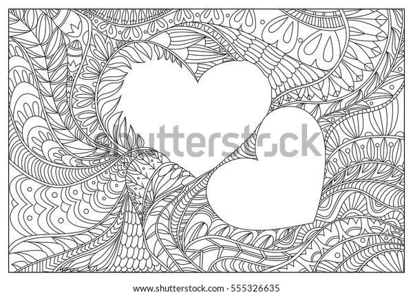 Valentines Day Coloring Pages for Adults – coloring.rocks! | 429x600