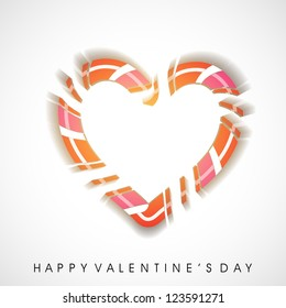 Valentines hearts, love background. EPS 10.