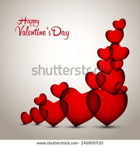 Valentines hearts vector card greetings design stock vector royalty valentines hearts vector card greetings design template m4hsunfo
