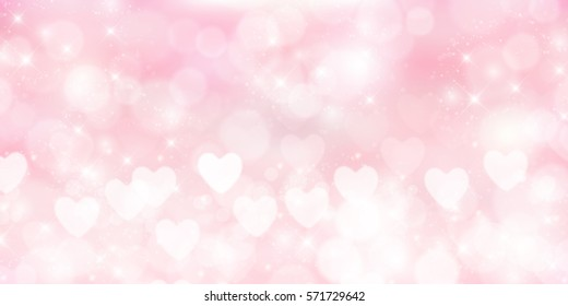 Valentine's Mother's Day Heart Background