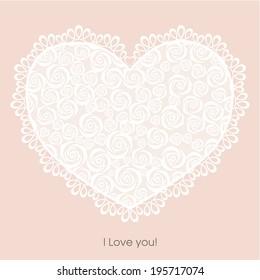 Valentines roses background