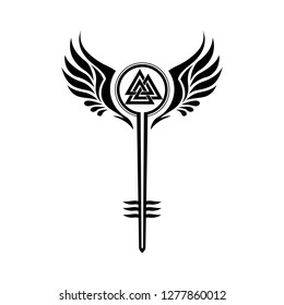 Valkyrie Symbol Wings