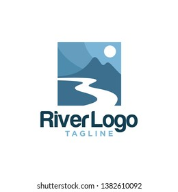 Valley River Logo Stock Image
