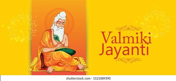Valmiki Jayanti is an annual Indian festival Valmiki Jayanti celebrates the birth anniversary
