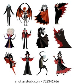 vampire characters collection