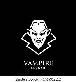 vampire logo icon design vector illustration