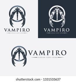 Vampire Logo Template