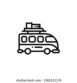 Van Car Icon Outline Vector. Holiday Sale Icons. Online Shop Ikon.