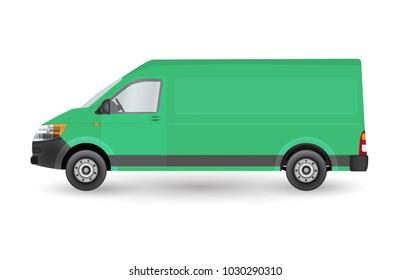 Van Side Vector