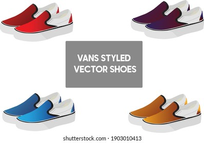 Vans Styled Vector shoes set