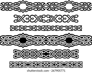 Variation of Celtic Continuous Decorative Band