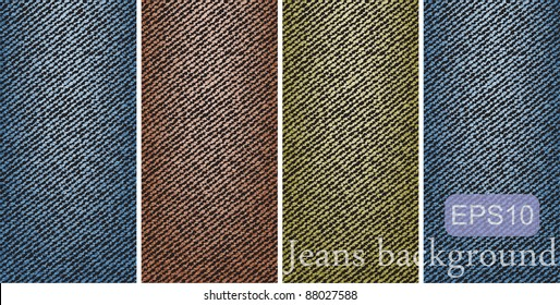 variegated jeans background