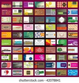 Various Business Card Template - set 2