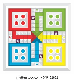 Various family game board, ludo.