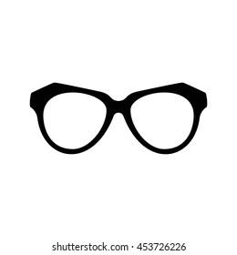 Various glasses. Stylish sunglasses for women, men and children. Eye glasses collection. Vector illustration eps10