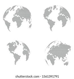 Various Globe, Earth Globe, Globe Collection