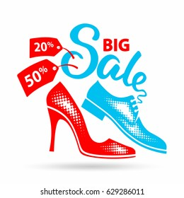 Shoes Offer Images, Stock Photos