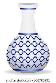 vase porcelain graphic vector