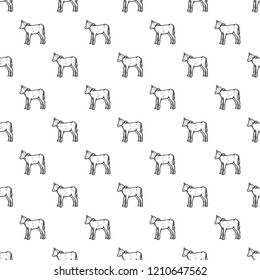 Veal pattern seamless repeat background for any web design