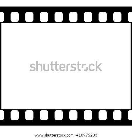 Vector 35 Mm Film Strip Illustration Stock Vektorgrafik Lizenzfrei