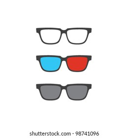 Vector 3D glasses set