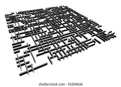 vector 3d  labyrinth