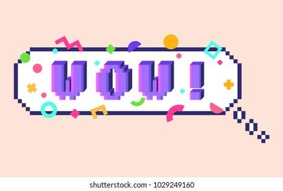 Pixel Letters Images, Stock Photos & Vectors | Shutterstock
