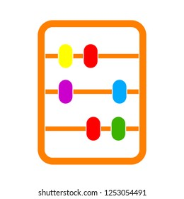 vector abacus icon
