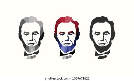 vector of abraham lincoln